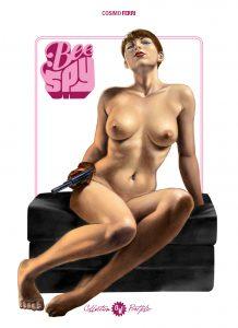 C. Ferri, Bee Spy, couverture portfolio n°4 OW! - format 22x31cm.