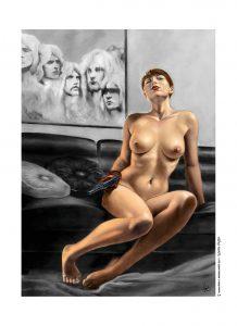 C. Ferri, Bee Spy, portfolio n°4 OW! - format 22x31cm.