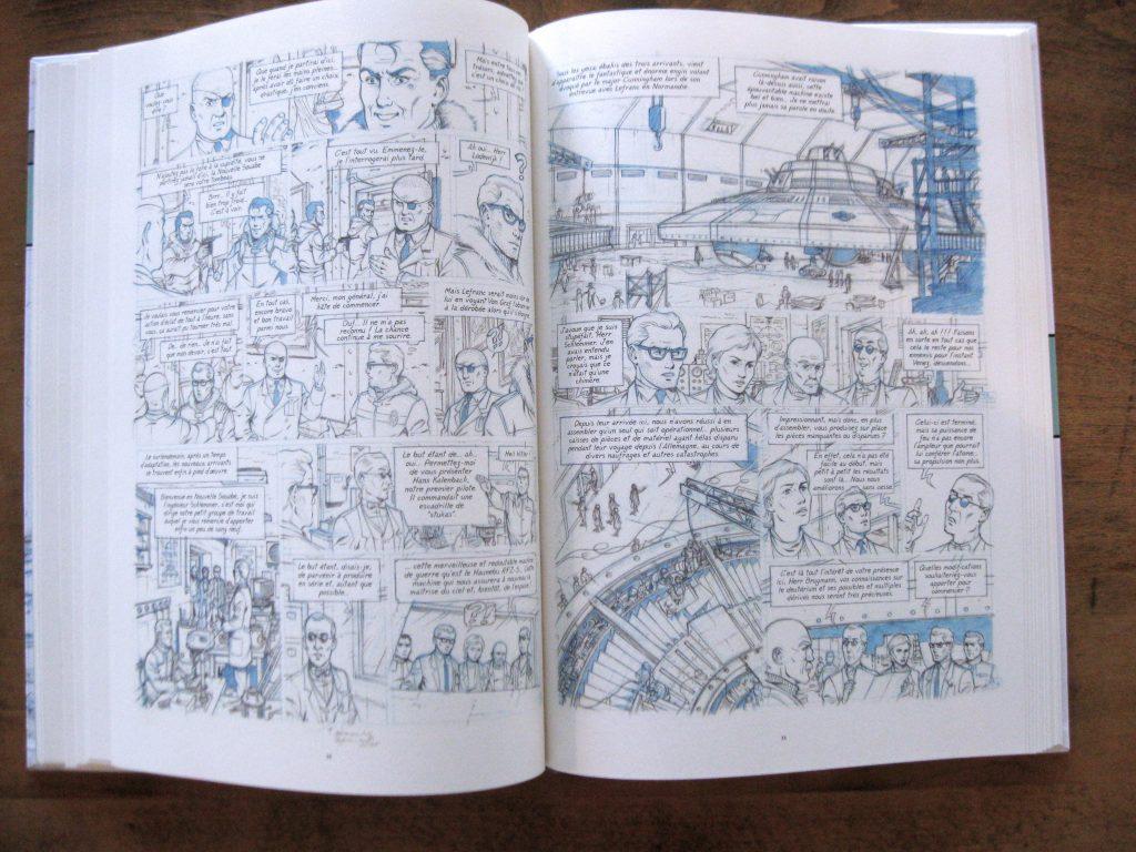 C. Alvès & F. Corteggiani, Mission Antarctique, page intérieure / Tirage de Luxe OW! - Format 30 x 42 cm.