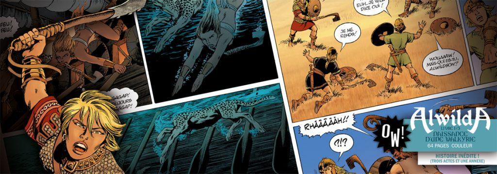 Alwilda, nouvelle série de JY Mitton à paraître le 30 octobre
